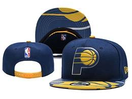 Mens Nba Indiana Pacers Snapback Adjustable Hats 2 Colors