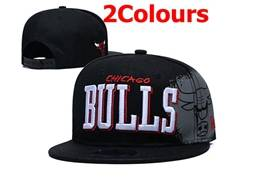 Mens Nba Chicago Bulls Snapback Adjustable Flat Hats 2 Colors