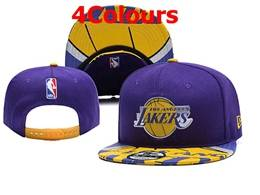 Mens Nba Los Angeles Lakers Snapback Adjustable Flat Hats 4 Colors