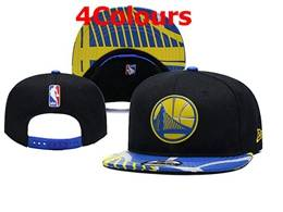Mens Nba Golden State Warriors Snapback Adjustable Hats 4 Colors