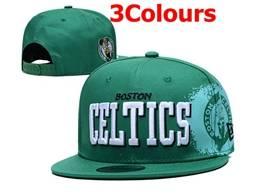 Mens Nba Boston Celtics Snapback Adjustable Flat Hats 3 Colors