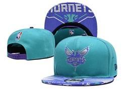 Mens Nba Charlotte Hornets Blue Snapback Hats