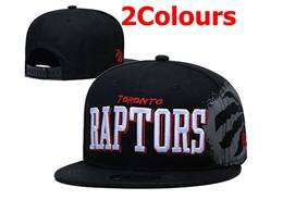 Mens Nba Toronto Raptors Snapback Adjustable Flat Hats 2 Colors