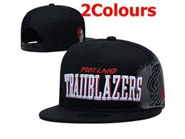 Mens Nba Portland Trail Blazers Snapback Adjustable Flat Hats 2 Colors
