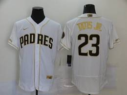 Mens Mlb San Diego Padres #23 Fernando Tatis Jr. White Flex Base Nike Jersey