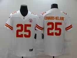 Mens Nfl Kansas City Chiefs #25 Clyde Edwards-helaire White Vapor Untouchable Limited Jerseys