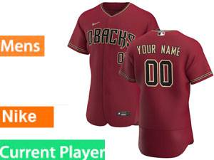 Mlb Arizona Diamondbacks Current Player 2020 Alternate Nike Red Flex Base Jersey