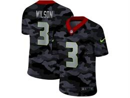 Mens Nfl Seattle Seahawks #3 Russell Wilson 2020 Nike Camo Salute To Service Limited Jersey