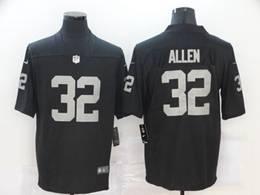Mens Nfl Oakland Raiders #32 Marcus Allen Black Vapor Untouchable Limited Nike Jersey