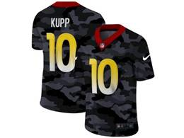 Mens Nfl Los Angeles Rams #10 Cooper Kupp 2020 Nike Camo Salute To Service Limited Jersey