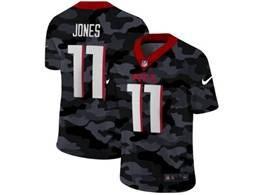 Mens Nfl Atlanta Falcons #11 Julio Jones 2020 Camo Vapor Untouchable Limited Nike Jersey