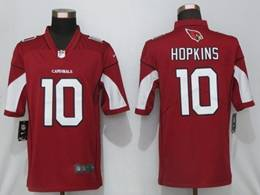 Mens Women Youth Nfl Arizona Cardinals #10 Deandre Hopkins Red Vapor Untouchable Limited Nike Jersey