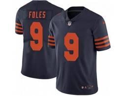 Mens Nfl Chicago Bears #9 Nick Foles Alternate Blue Vapor Untouchable Limited Player Nike Jersey