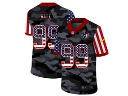Mens Nfl Houston Texans #99 Jj Watt 2020 Nike Camo Usa Salute To Service Limited Jersey