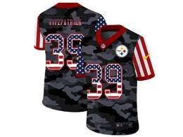 Mens Nfl Pittsburgh Steelers #39 Minkah Fitzpatrick 2020 Nike Camo Usa Salute To Service Limited Jersey