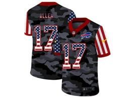 Mens Nfl Buffalo Bills #17 Josh Allen 2020 Nike Camo Usa Salute To Service Limited Jersey