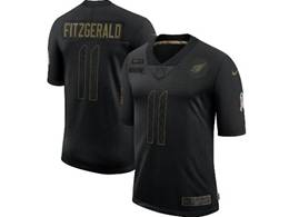 Mens Nfl Arizona Cardinals #11 Larry Fitzgerald Black Nike 2020 Salute To Service Limited Jersey