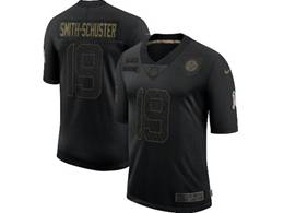 Mens Nfl Pittsburgh Steelers #19 Juju Smith-schuster Black Nike 2020 Salute To Service Limited Jersey