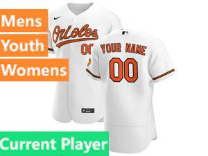 Mens Baltimore Orioles White 2020 Nike Flex Base Current Player Jersey