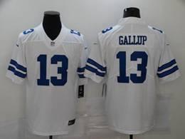 Mens Nfl Dallas Cowboys #13 Michael Gallup White Vapor Untouchable Limited Nike Jersey