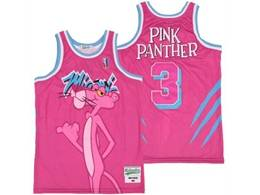 Mens Nba Miami Heat #3 Dwyane Wade Pink Panther Swingman Jersey