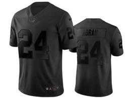 Mens Nfl Las Vegas Raiders #24 Johnathan Abram Black City Edition Vapor Untouchable Limited Nike Jersey