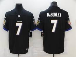 Mens Nfl Baltimore Ravens #7 Trace Mcsorley Black Vapor Untouchable Limited Nike Jersey