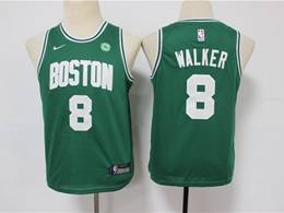 Youth Nba Boston Celtics #8 Kemba Walker Green Swingman Jersey