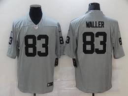 Mens Nfl Las Vegas Raiders #83 Darren Waller Gray Inverted Legend Vapor Untouchable Limited Jersey