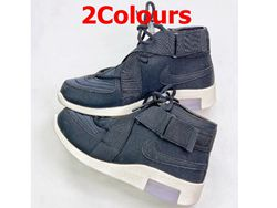 Mens And Women Nike Air Fear Of God Fog Running Shoes 2 Colors