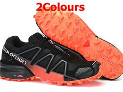 Mens Salomon Speed Cross 4 Running Shoes 2 Colors