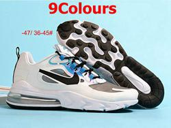 Mens And Women Nike Air Max 270 2.0 Running Shoes 9 Colors