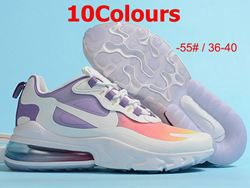 Women Nike Air Max 270 2.0 Running Shoes 10 Colors