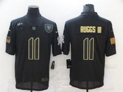 Mens Nfl Las Vegas Raiders #11 Henry Ruggs Iii Black 2020 Nike Salute To Service Limited Jersey