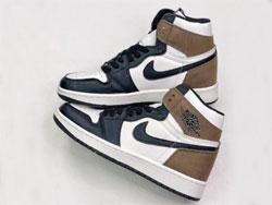 "Mens And Women Nike Wmns Jordan 1 High Og ""dark Mocha"" Running Shoes One Color"