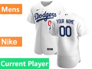 Mens Mlb Los Angeles Dodgers Current Player 2020 Nike White Home Flex Base Jersey