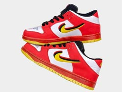 Mens And Women Nike Skate Board Dunk Low 25th Running Shoes One Color