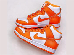 Mens And Women Nike Zoom Air Dunk High Syracuse Running Shoes One Color