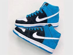Mens And Women Nike Dunk Sb High Send Help Running Shoes One Color