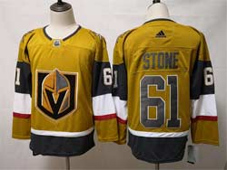 Mens Nhl Vegas Golden Knights #61 Mark Stone Gold Alternate Adidas Player Jersey