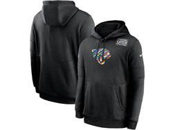 Mens Nfl Jacksonville Jaguars Black Crucial Catch Sideline Performance Pocket Pullover Hoodie Nike Jersey