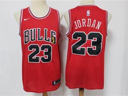 Mens Nba Chicago Bulls #23 Michael Jordan Red Fifa World Cup Champion Nike Jersey