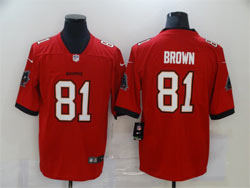 Mens Nfl Tampa Bay Buccaneers #81 Antonio Brown Red Vapor Untouchable Limited Nike Jersey