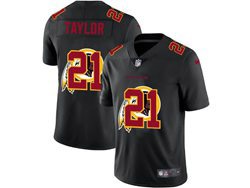 Mens Nfl Washington Redskins #21 Sean Taylor Black Shadow Logo Vapor Untouchable Limited Nike Jersey