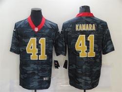 Mens Nfl New Orleans Saints #41 Alvin Kamara 2020 Camo Vapor Untouchable Limited Nike Jersey