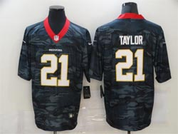 Mens Nfl Washington Redskins #21 Sean Taylor 2020 Camo Vapor Untouchable Limited Nike Jersey