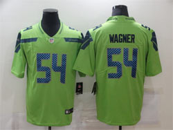 Mens Nfl Seattle Seahawks #54 Bobby Wagner Green Vapor Untouchable Limited Nike Jersey