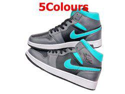 Mens And Women Nike Air Jordan1 Aj1 Mid Running Shoes 5 Colors