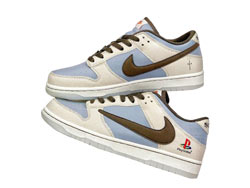 Mens And Women Travis Scott X Playstation X Nike Sb Dunk Low Running Shoes One Color