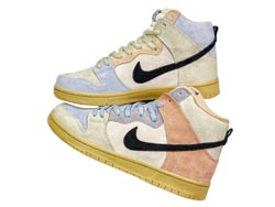 "Mens And Women Nike Sb Dunk High ""spectrum"" Running Shoes One Color"